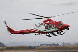 やまけんさんが、仙台空港で撮影した仙台市消防航空隊 412EPの航空フォト(飛行機 写真・画像)