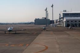 Hiro-hiroさんが、名古屋飛行場で撮影した日本法人所有 TBM-700の航空フォト(飛行機 写真・画像)