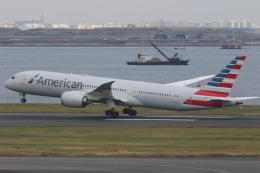 プルシアンブルーさんが、羽田空港で撮影したアメリカン航空 787-9の航空フォト(飛行機 写真・画像)