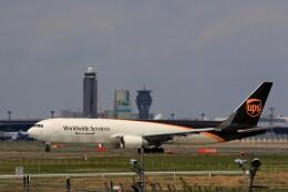 ☆ライダーさんが、成田国際空港で撮影したUPS航空 767-34AF/ERの航空フォト(飛行機 写真・画像)