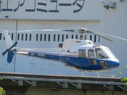 ランチパッドさんが、静岡ヘリポートで撮影した東邦航空 AS350B Ecureuilの航空フォト(飛行機 写真・画像)