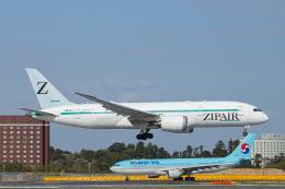 SGR RT 改さんが、成田国際空港で撮影したZIPAIR 787-8 Dreamlinerの航空フォト(飛行機 写真・画像)