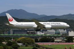 HLeeさんが、台北松山空港で撮影した日本航空 787-9の航空フォト(飛行機 写真・画像)