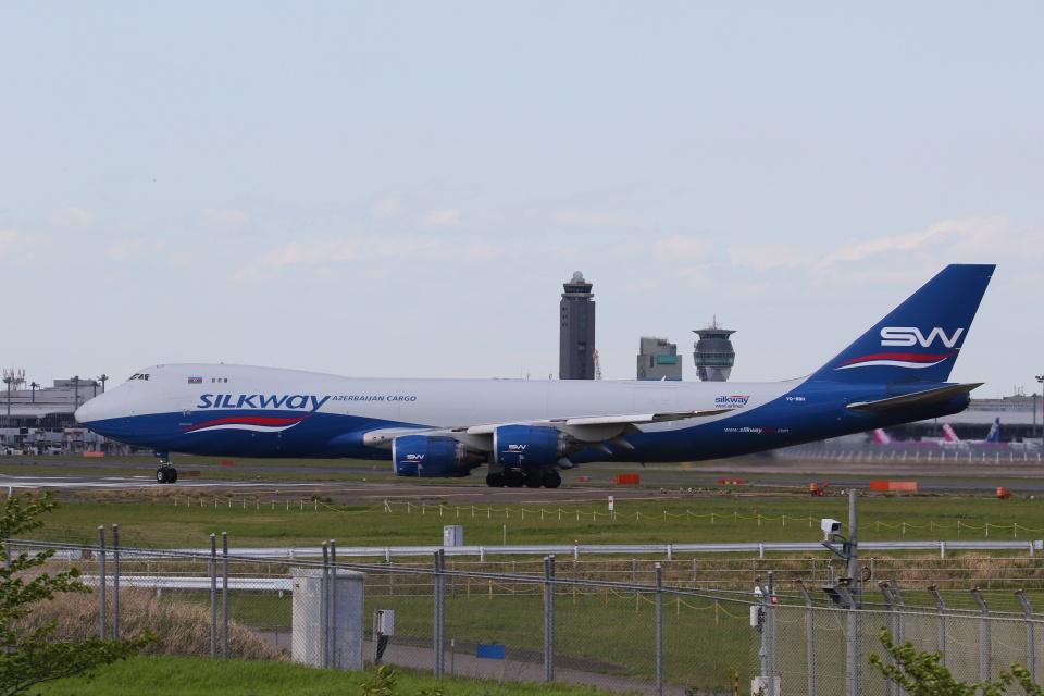 宮崎 育男さんのシルクウェイ・ウェスト・エアラインズ Boeing 747-8 (VQ-BBH) 航空フォト