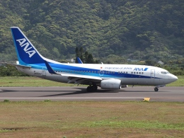 FT51ANさんが、八丈島空港で撮影した全日空 737-781の航空フォト(飛行機 写真・画像)