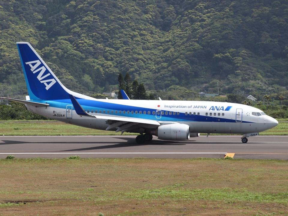 FT51ANさんの全日空 Boeing 737-700 (JA02AN) 航空フォト