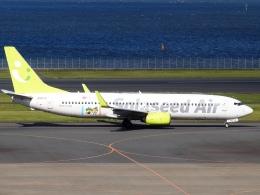 FT51ANさんが、羽田空港で撮影したソラシド エア 737-81Dの航空フォト(飛行機 写真・画像)