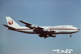 tassさんが、成田国際空港で撮影した日本航空 747-246Bの航空フォト(飛行機 写真・画像)