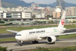 ceskykrumlovさんが、台北松山空港で撮影した日本航空 777-246/ERの航空フォト(飛行機 写真・画像)