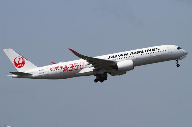 B14A3062Kさんが、伊丹空港で撮影した日本航空 A350-941の航空フォト(飛行機 写真・画像)