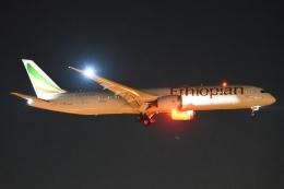 木人さんが、成田国際空港で撮影したエチオピア航空 787-9の航空フォト(飛行機 写真・画像)