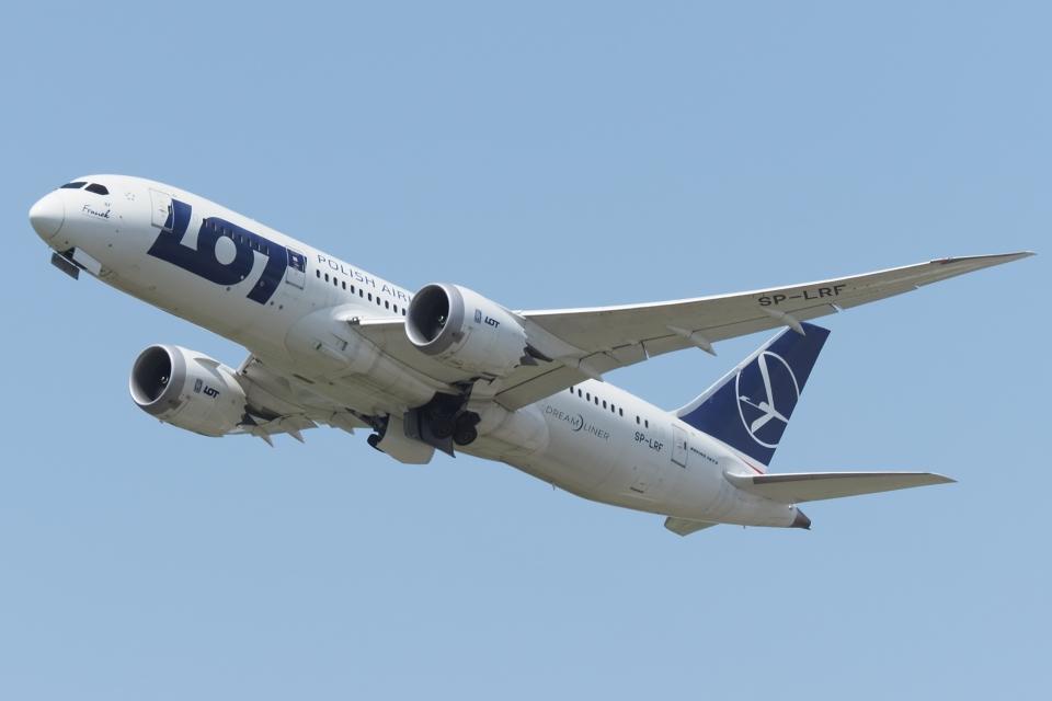 木人さんのLOTポーランド航空 Boeing 787-8 Dreamliner (SP-LRF) 航空フォト