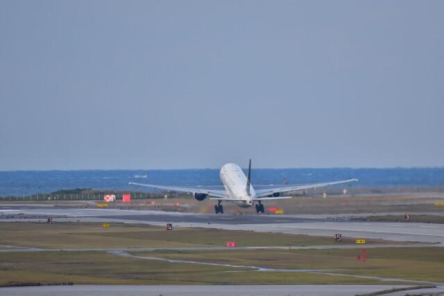 ER_b777logさんが、那覇空港で撮影した全日空 777-281の航空フォト(飛行機 写真・画像)