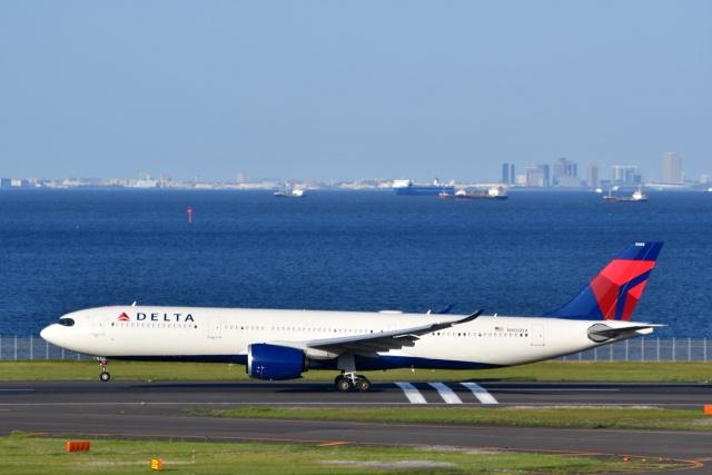 チョロ太さんが、羽田空港で撮影したデルタ航空 A330-941の航空フォト(飛行機 写真・画像)