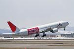 syu〜さんが、新千歳空港で撮影した日本航空 777-246の航空フォト(写真)