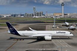 チョロ太さんが、羽田空港で撮影したルフトハンザドイツ航空 A350-941の航空フォト(飛行機 写真・画像)