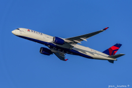 ぱん_くまさんが、羽田空港で撮影したデルタ航空 A350-941の航空フォト(飛行機 写真・画像)