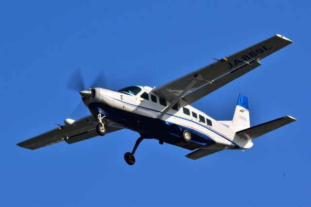 ER_b777logさんが、那覇空港で撮影した日本エアロスペース 208B Grand Caravanの航空フォト(飛行機 写真・画像)