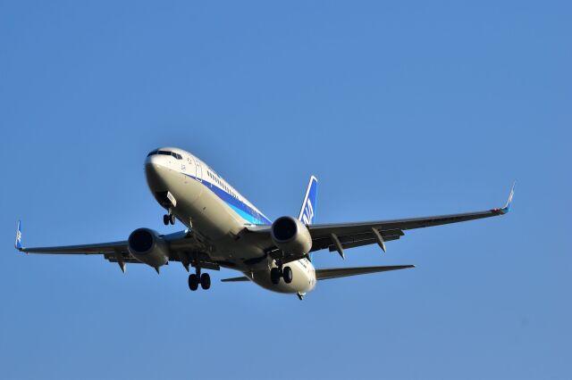 ER_b777logさんが、那覇空港で撮影した全日空 737-8ALの航空フォト(飛行機 写真・画像)