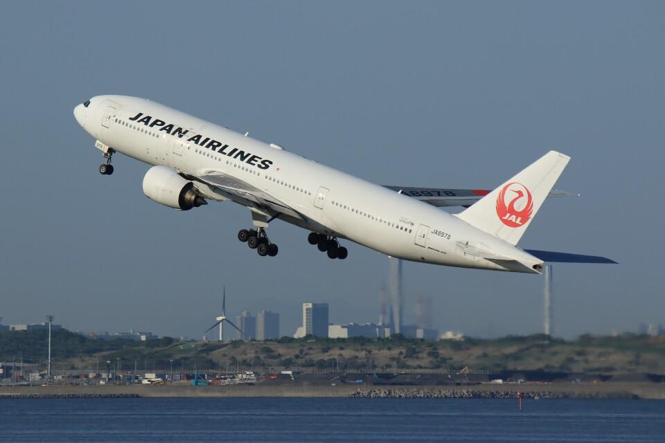 メンチカツさんの日本航空 Boeing 777-200 (JA8978) 航空フォト