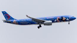 Shotaroさんが、上海虹橋国際空港で撮影した中国東方航空 A330-343Xの航空フォト(飛行機 写真・画像)