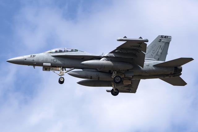 Flankerさんが、三沢飛行場で撮影したアメリカ海軍 EA-18G Growlerの航空フォト(飛行機 写真・画像)