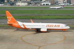 kan787allさんが、福岡空港で撮影したチェジュ航空 737-86Nの航空フォト(飛行機 写真・画像)