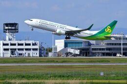 門ミフさんが、佐賀空港で撮影した春秋航空日本 737-8ALの航空フォト(飛行機 写真・画像)
