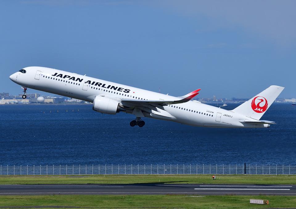 じーく。さんの日本航空 Airbus A350-900 (JA04XJ) 航空フォト