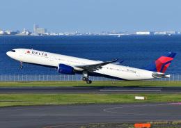 じーく。さんが、羽田空港で撮影したデルタ航空 A330-941の航空フォト(飛行機 写真・画像)