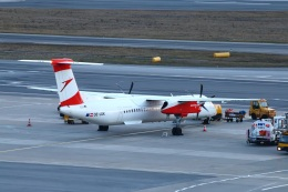 S.Hayashiさんが、ウィーン国際空港で撮影したオーストリア航空 DHC-8-402Q Dash 8の航空フォト(飛行機 写真・画像)