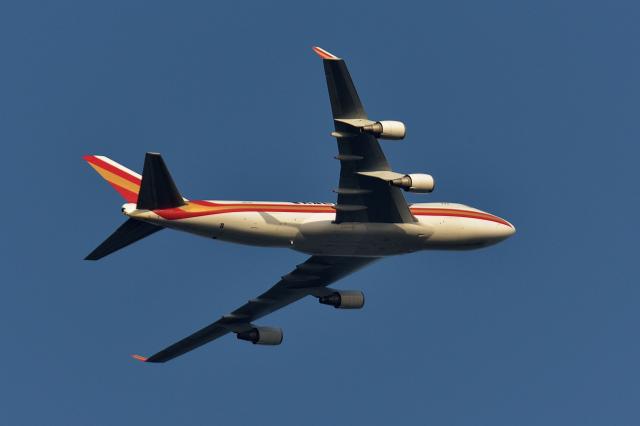NFファンさんが、厚木飛行場で撮影したカリッタ エア 747-481F/SCDの航空フォト(飛行機 写真・画像)