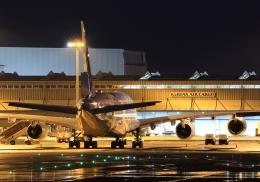 LOTUSさんが、関西国際空港で撮影した全日空 A380-841の航空フォト(飛行機 写真・画像)