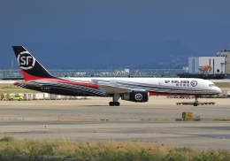 LOTUSさんが、関西国際空港で撮影したSF エアラインズ 757-2Z0(SF)の航空フォト(飛行機 写真・画像)