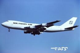 tassさんが、成田国際空港で撮影したサザン・エア・トランスポート 747-246F/SCDの航空フォト(飛行機 写真・画像)