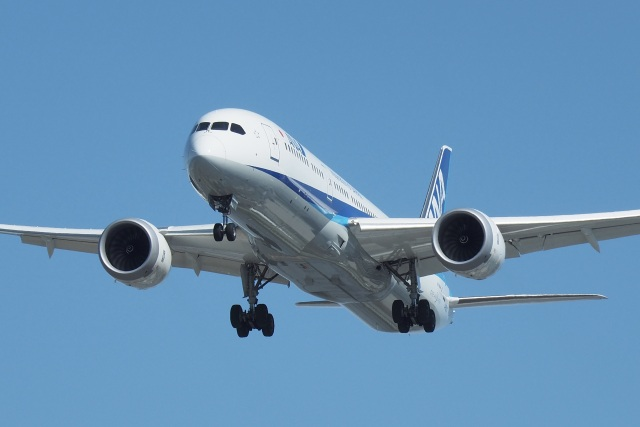 thomasYVRさんが、バンクーバー国際空港で撮影した全日空 787-9の航空フォト(飛行機 写真・画像)