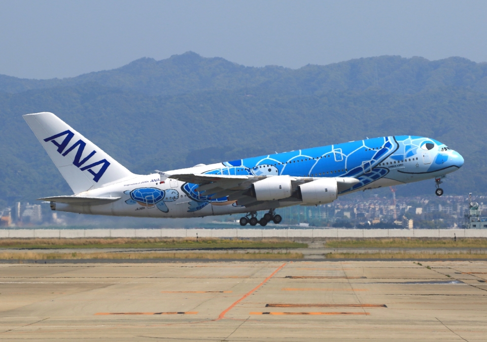 LOTUSさんの全日空 Airbus A380 (JA381A) 航空フォト