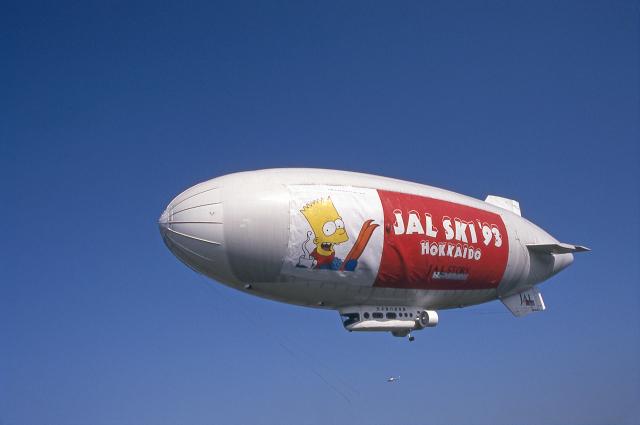 JAパイロットさんが、ホンダエアポートで撮影した日本飛行船事業 Skyship 600の航空フォト(飛行機 写真・画像)