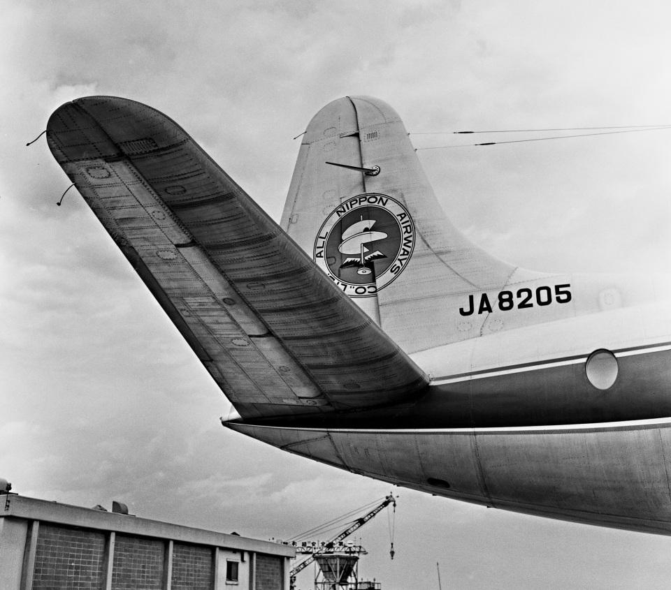 Y.Todaさんの全日空 Vickers Viscount (JA8205) 航空フォト