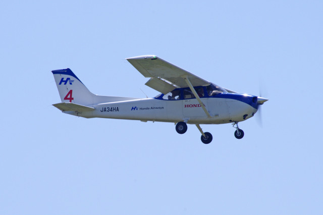 apphgさんが、静岡空港で撮影した本田航空 172S Skyhawk SPの航空フォト(飛行機 写真・画像)