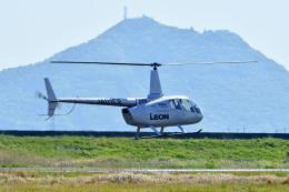 Gambardierさんが、岡南飛行場で撮影した日本法人所有 R66 Turbineの航空フォト(飛行機 写真・画像)