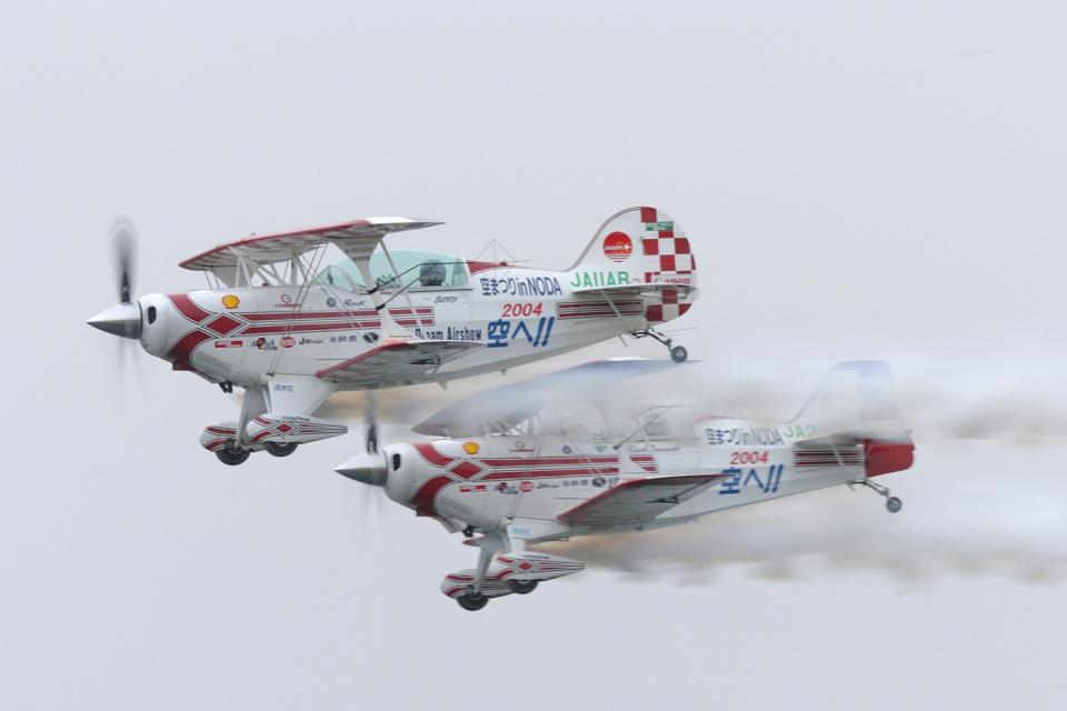 senyoさんのエアロック・エアロバティックチーム Pitts S-2 Special (JA11AR) 航空フォト