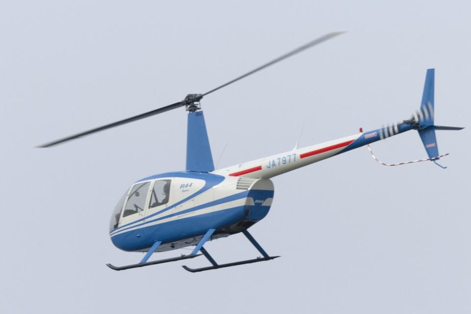 senyoさんのアルファーアビエィション Robinson R44 (JA7977) 航空フォト