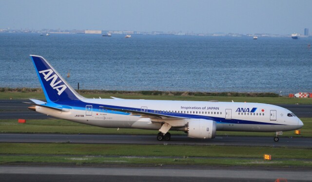 Rsaさんが、羽田空港で撮影した全日空 787-8 Dreamlinerの航空フォト(飛行機 写真・画像)