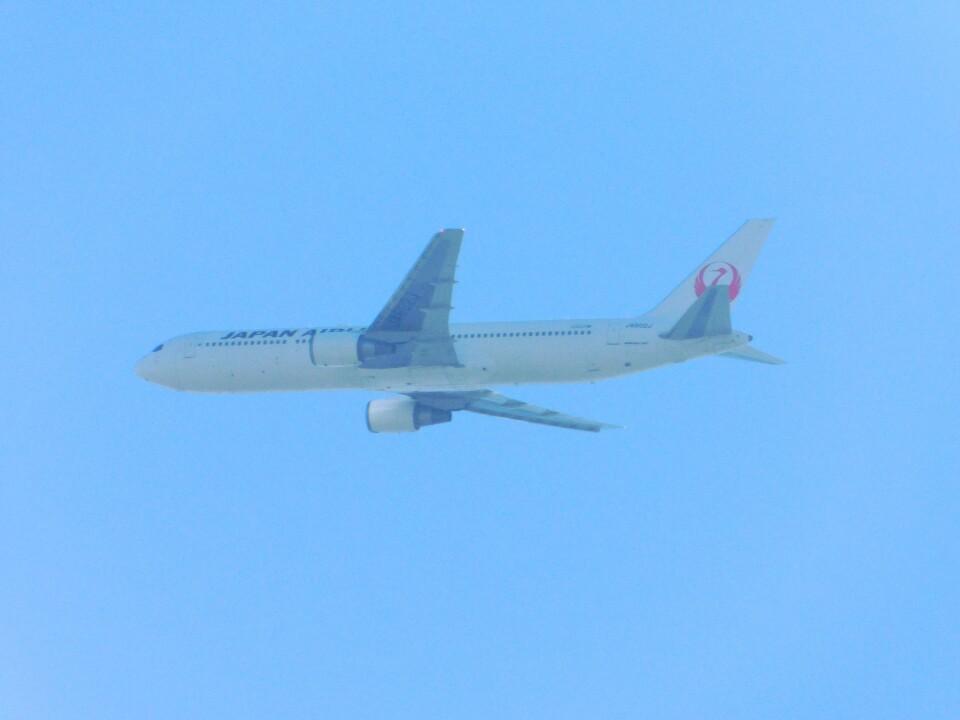 さんまるエアラインさんの日本航空 Boeing 767-300 (JA602J) 航空フォト