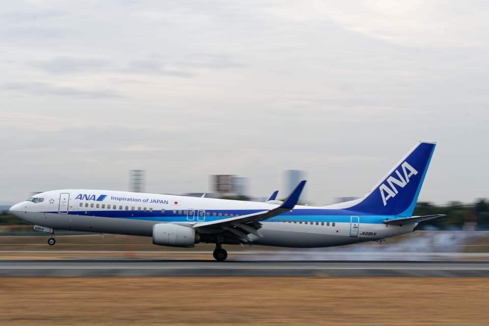 平凡なおっちゃんさんの全日空 Boeing 737-800 (JA68AN) 航空フォト