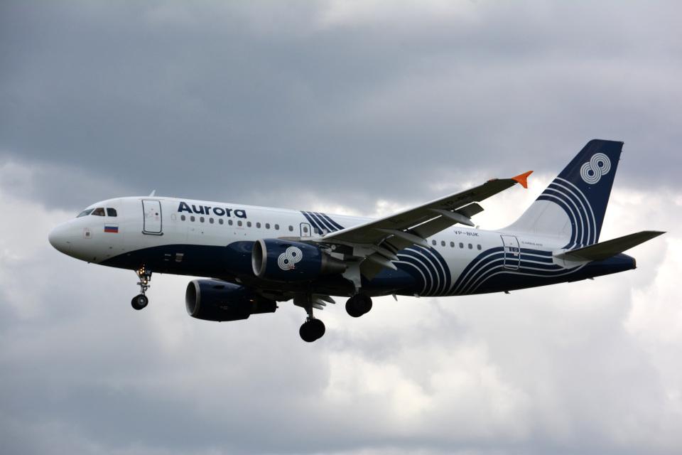 アルビレオさんのオーロラ Airbus A319 (VP-BUK) 航空フォト