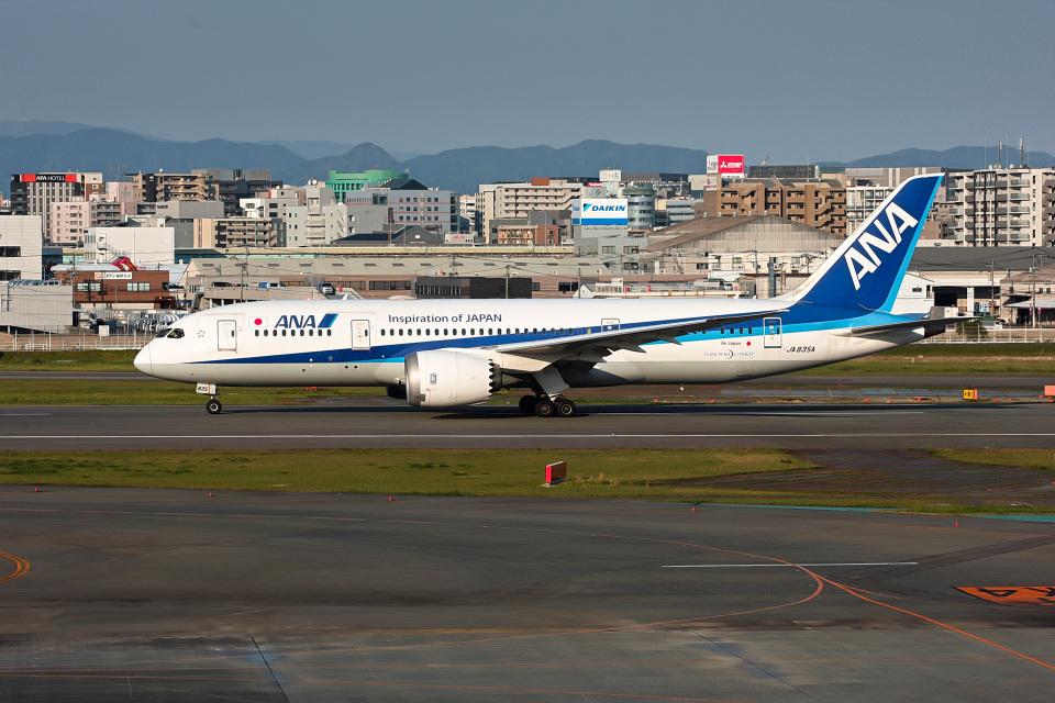 ansett747さんの全日空 Boeing 787-8 Dreamliner (JA835A) 航空フォト