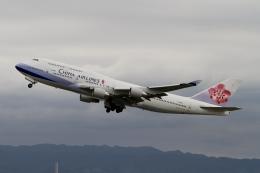 ☆H・I・J☆さんが、関西国際空港で撮影したチャイナエアライン 747-409の航空フォト(飛行機 写真・画像)