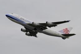 ☆H・I・J☆さんが、関西国際空港で撮影したチャイナエアライン 747-409F/SCDの航空フォト(飛行機 写真・画像)